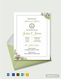 11 Free Dinner Invitation Templates Word Psd Indesign