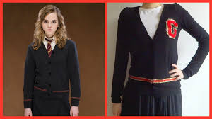 diy do it yourself harry potter hogwarts sweater uniform for you