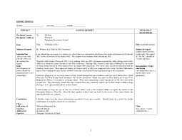 Crime Report Template Stunning Sample Of Report Of Theft