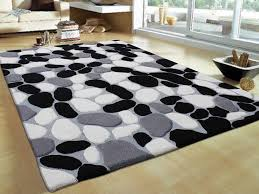 Interior,Black White And Grey Combination Types Of Carpets And Rugs,Awesome  Collection Of Rugs For Your Interior Livingroom Design Ideas