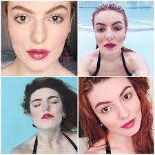 the purpose of makeup is not to deceive anyone it s meant to highlight features one likes about themselves as if anyone is born with gold glitter
