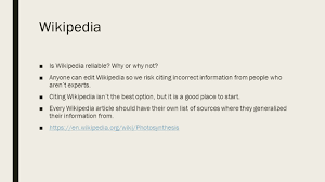 How To Find Reliable Internet Sources Ppt Download