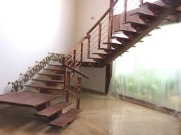wooden steps staircase