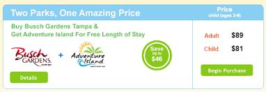 how much are busch garden tickets. Coke-Busch-Gardens-Tampa-+-Island-Adventure-June-Offer.png How Much Are Busch Garden Tickets N