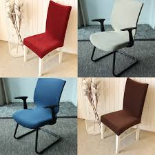 dining chair cover piece quality elastic dining chair cover one piece chair cover office chair