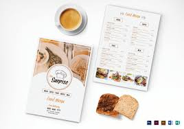 breakfast menu template simple breakfast menu design template in psd word publisher