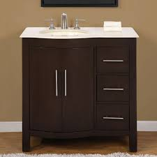 36 inch modern single bathroom vanity