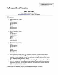 How To Do References On A Resume Resume Exampleserences And Portfolioerence Page Sheet For