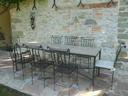 Sedie In Ferro Battuto Ebay : Tavoli da cucina in ferro battuto base forgiato ripiano