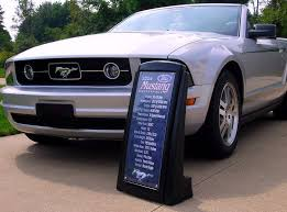 Automotive Display Stands