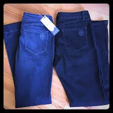 Laurie Felt 2 Pairs Jeans Size 10 12 Nwt