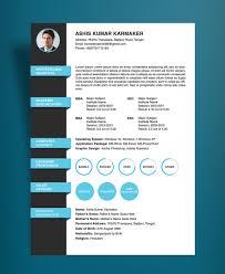 Free Simple Resume Cv Design Template Psd File Good Resume Design