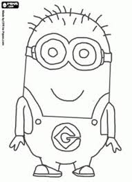 Small Picture How to Draw Dave one of the Minions from Despicable Me Drawing
