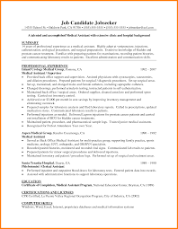 Medical Field Resume Samples Free Resume Example And Writing