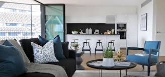Teal Accessories For Living Room Home Interior Design Southbank Apartment Th2designs London