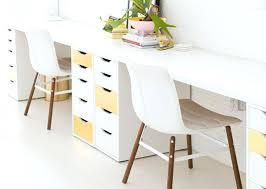 office desk idea. Desk Ideas Pinterest Attractive Best Interior Idea Design Exquisite Office Long Furniture Wooden Trestle In .