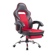 HomCom <b>Race</b> Car Style High Back PU Leather <b>Reclining Office</b> ...