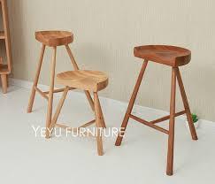 fashion popular modern design solid oak wood bar stool low stool pertaining to wood counter stool plan