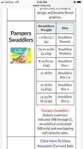 43 Qualified Pampers Swaddlers Size Guide