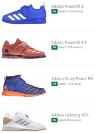 Adipower Size Chart 10 Best Adidas Weightlifting Shoes December 2019 Runrepeat