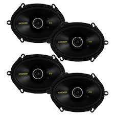 best 6x8 speakers for getting the best sound quality for your car 4 new kicker 40cs684 450w 2 way car coaxial speakers stereo audio cs684