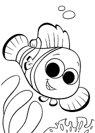 Cute Big Eyed Animals Coloring Pages Unique Finding Nemo Coloring
