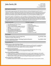 Resume Format For Electrical Engineer Omfar Mcpgroup Co