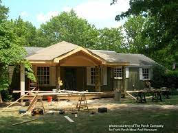 front porch average square footage cost