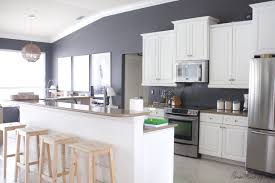 Paint Backsplash Stunning How I Transformed My Kitchen With Paint House Mix