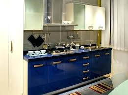 blue cabinets kitchen modern polished blue cabinet kitchen kitchen color ideas with black countertops blue cabinets