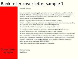 Brilliant Ideas Of Cover Letter Examples For Bank Teller Jobs About