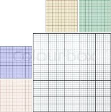 Drawing Pictures On Graph Paper Set Of Industrial Sheets Of Paper
