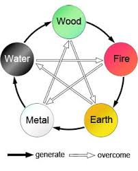 Chinese Medicine Five Elements Chart Five Elements Wu Xing Theory Chart To Find Chinese Zodiac