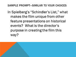 claim data warrant analysis essay organization sample prompt  sample prompt similar to your choices in spielberg s schindler s list what makes the film