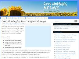 Good Morning Love Quotes For Him Custom Good Morning Messages Quotes Poems Web Directory