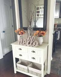 white furniture ideas. Perfect White Small Front Entrance Decorating Ideas Entry Table Idea White Console Within  Remodel 4 On Furniture