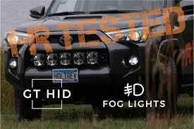 2018 Toyota 4runner Fog Light Bulb Size 2014 2019 Toyota 4runner Ultra Hid Kit Fog Lights