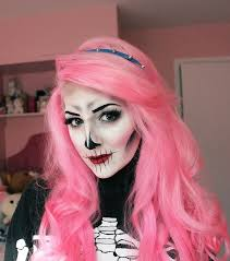 i posted a new video today it s a tutorial to create the look above skeleton face makeuppretty