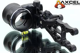 Axcel Armortech 5 Pin Toolless Micro Drive Compound Bow Sight With