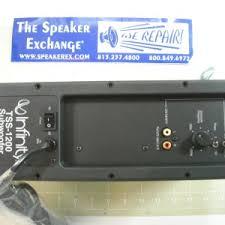 infinity amplifier. infinity tss1100, tss1200 amplifier