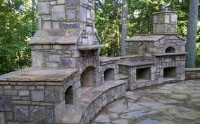 outdoor stone fireplace. Outdoor Stone Fireplace Grill Plans Natural Kitchens Masonry Indoor Portfolio