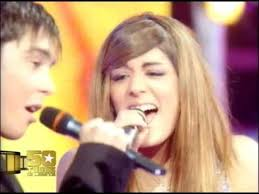 Gregory Lemarchal et Sofia Essaidi Time of my life - YouTube