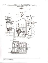I need the wiring diagram for the starting circuit on a deere 730 full size image