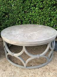 rowan od small outdoor coffee table concrete round me gardens design wood and glass coffee