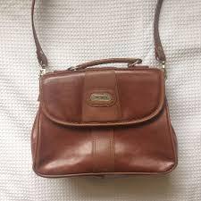 genuine vintage leather shoulder carry bag women s fashion bags wallets on carou