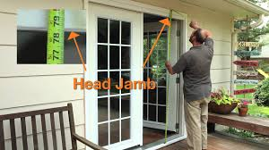 how to measure for a new prehung patio door the home depot
