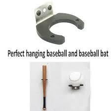 home plate baseball bat holder display
