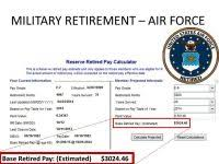 National Guard Drill Pay Chart 2018 National Guard Retirement Pay Chart 2018 The Proposed