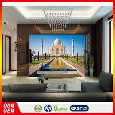 India Taj Mahal Foto Prijs 3d Muur Behang Beroemde Gebouw Behang