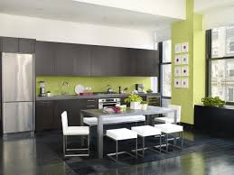 green dining room colors. Modern Dining Rooms Color Mesmerizing Cozy Leather Kitchen Chairs And Room With Green Colors